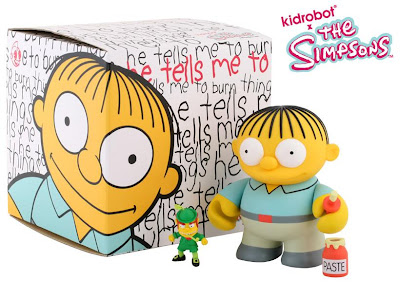 Kidrobot x The Simpsons 6 Inch Ralph Wiggum Vinyl Figure