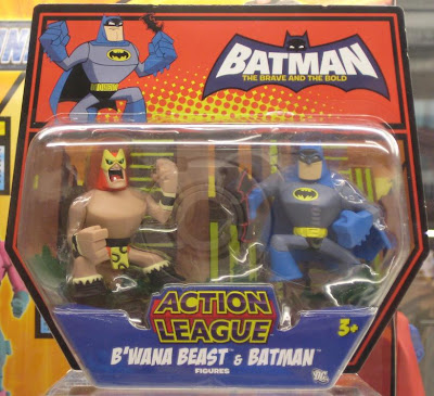 Batman The Brave and The Bold Action League B'wana Beast & Batman Figures
