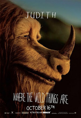 Where The Wild Things Are Promo Character Movie Posters - Catherine O'Hara as Judith