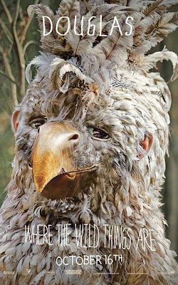 Where The Wild Things Are Promo Character Movie Posters - Chris Cooper as Douglas