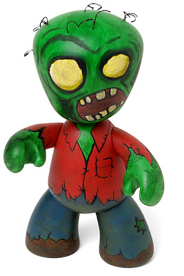 Mezco Toyz - ThinkGeek.com Exclusive Green Skinned Zombie Mez-Itz Vinyl Figure