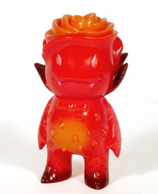 Super 7 - Blood Red Rose Vampire Vinyl Figure by Josh Herbolsheimer
