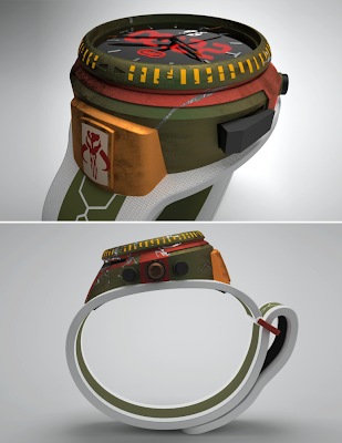 Marc Ecko x Star Wars Boba Fett Watch