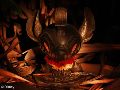 MINDstyle x Disney Tiki Stitch Vinyl Figure by Eric Tan