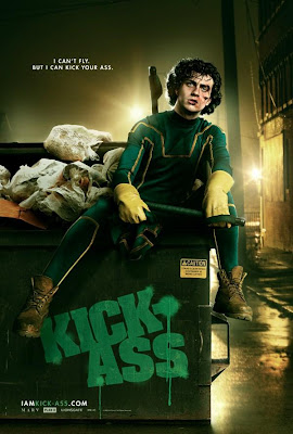 Kick-Ass Character One Sheet Movie Posters Set 2 - I Can't Fly, But I Can Kick Your Ass - Aaron Johnson as Kick-Ass