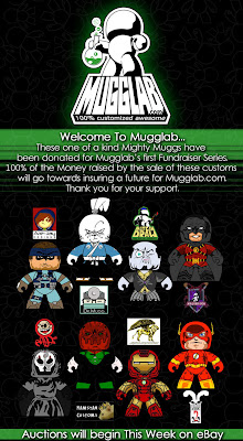 Mugglab.com's Custom Mighty Muggs Fundraiser Flyer