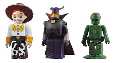 Medicom x Disney Toy Story 3 Kubrick Series - Jessie, Zurg & Green Army Man Kubricks