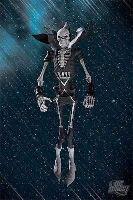 DC Direct Blackest Night Series 5 - Black Lantern Deadman Action Figure