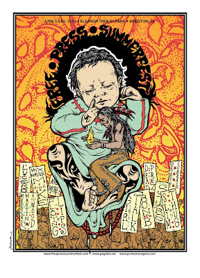 2010 Free Press Summerfest Screen Print by Jermaine Rogers