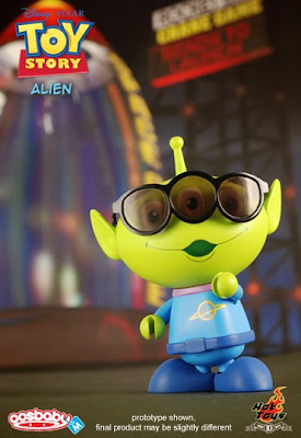 Toy Story 6 Inch CosBaby Vinyl Figures by Hot Toys - Alien