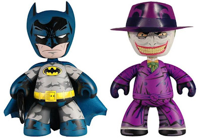 DC Comics x Mezco Toyz 2010 Summer Exclusive 6 Inch Batman & The Joker Mez-Itz Vinyl Figures 2 Pack