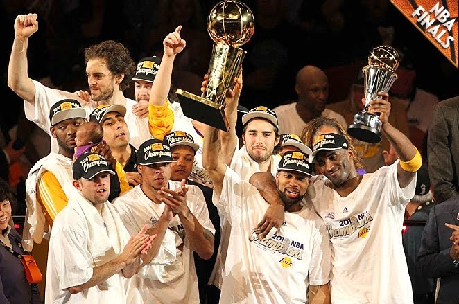 The Blot Says...: Los Angeles Lakers Win the 2010 NBA Championship For Back to Back Titles