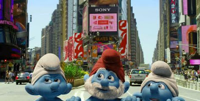 First Look: The Smurfs Movie in 3D