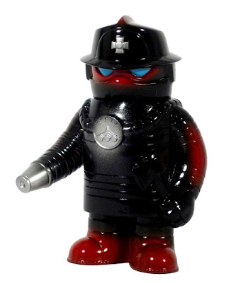 Super7 - Fire Robo Vinyl Figure by Jeremy Whiteaker