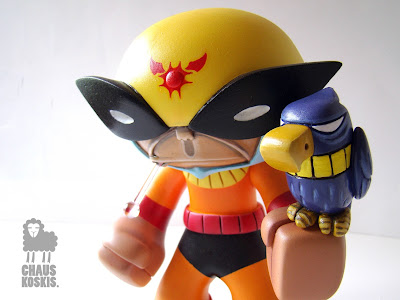 Birdman 40° Custom Celsius Vinyl Figure by Chauskoskis