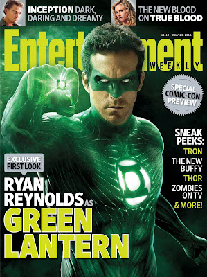 Green Lantern Motion Picture First Look - Ryan Reynolds as Green Lantern High Resolution Photo