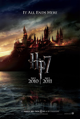 Harry Potter and the Deathly Hallows Teaser One Sheet Movie Poster