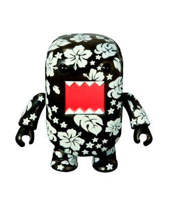 San Diego Comic-Con 2010 Exclusive Hawaii Black 2 Inch Domo Qee from Dark Horse