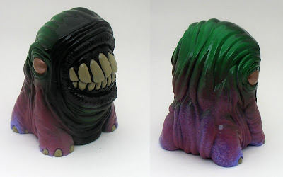 San Diego Comic-Con 2010 Exclusive Green and Purple Treature Resin Figure by Motorbot