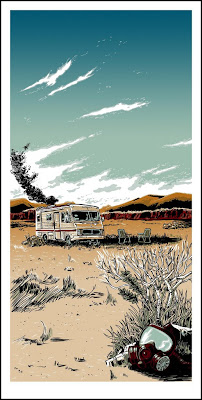 "Breaking Bad Inspired Screen Print ""The Cook"" by Tim Doyle"