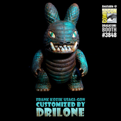 San Diego Comic-Con 2010 Exclusive Custom Usagi-Gon by Drilone