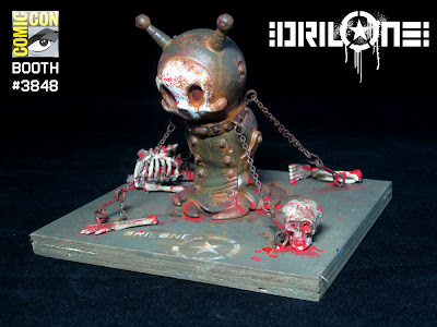 San Diego Comic-Con 2010 Exclusive Custom Big Sal by Drilone