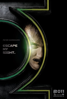 Green Lantern Teaser Character Movie Poster Set - Peter Sarsgaard as Hector Hammond