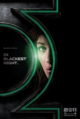 Green Lantern Teaser Character Movie Poster Set - Blake Lively as Carol Ferris