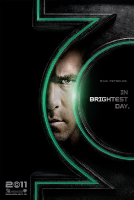 Green Lantern Teaser Character Movie Poster Set - Ryan Reynolds as Green Lantern
