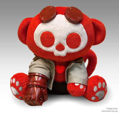 San Diego Comic-Con 2010 Exclusive Skelanimals x Hellboy Marcy Hellboy Plush