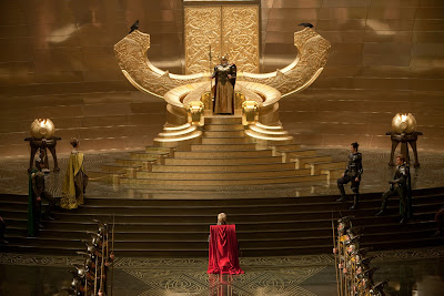 Thor Motion Picture Official Photo - Odin's Hall of Asgard