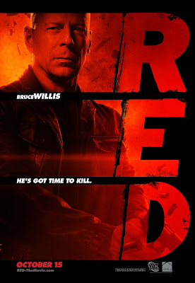 RED One Sheet Character Movie Posters - Bruce Willis as Frank Moses