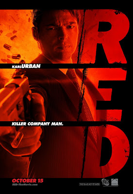 RED One Sheet Character Movie Posters - Karl Urban as William Cooper