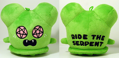 Dragatomi Exclusive 5 Inch Green Ride The Serpent Buff Monster Plush Figure