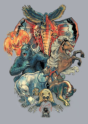 Threadless - The X-Menagerie by Alice X. Zhang and Peter Kramar
