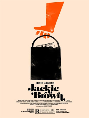 2010 Rolling Roadshow Screen Print Series - Jackie Brown by Olly Moss