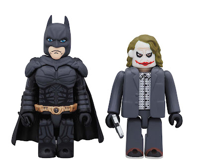 DC Comics 75th Anniversary The Dark Knight Kubrick 2 Pack - Batman & The Joker