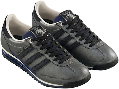 Star Wars x adidas Originals Fall/Winter 2010 Collection - Han Solo in Carbonite SL-72 Sneakers