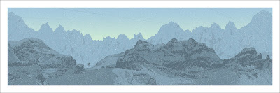 Mondo Star Wars Screen Print Series #4 - Hoth by Dan McCarthy