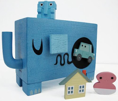 Big City Edition What-Did-I-Eat-Ephunt Vinyl Figure by Amanda Visell