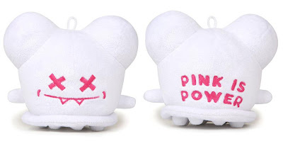 3DRetro Exclusive 5 Inch White Pink Is Power Buff Monster Plush Figure