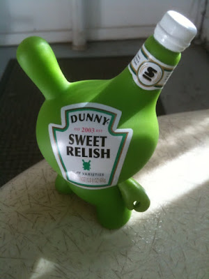 Kidrobot Dunny Series 2010 - Sweet Relish Bottle 3 Inch Dunny by Sket One