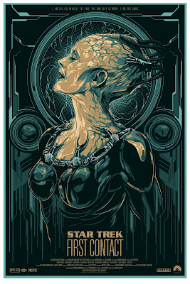 Star Trek: First Contact Screen Print by Ken Taylor