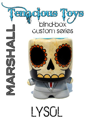 Tenacious Toys Marshall Blind Box Custom Series - Día de los Muertos Custom Marshall Vinyl Figure by LYS0L