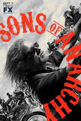 Sons of Anarchy Season 3 Television Poster
