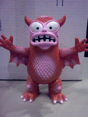 New York Comic-Con 2010 Exclusive Mystery Red Painted Real Fighting Greasebat by Jeff Lamm
