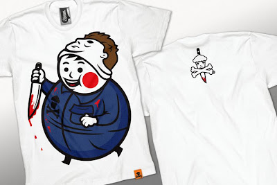 Johnny Cupcakes Halloween 2010 T-Shirts - Big Kid Myers T-Shirt