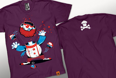Johnny Cupcakes Halloween 2010 T-Shirts - Clown T-Shirt