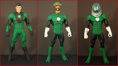 Green Lantern Classics Wave 2 Action Figures - Ion, Medphyll & Nautkeiloi