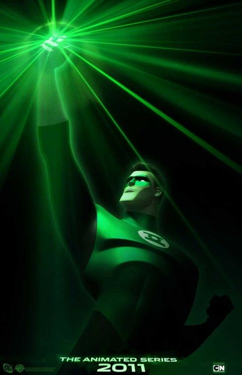 the blot says green lantern the animated series teaser poster concept